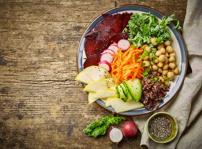 alimenti dieta vegetariana