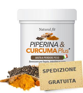 Integratore Piperina e Curcuma