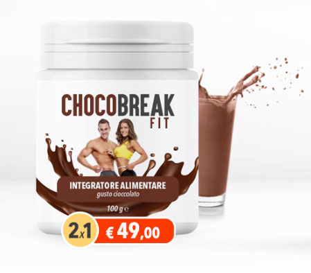 Chocobreak Fit integratore dimgrante