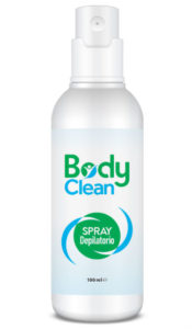body clean spray depilatorio