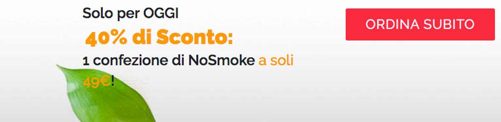 no smoke offerta