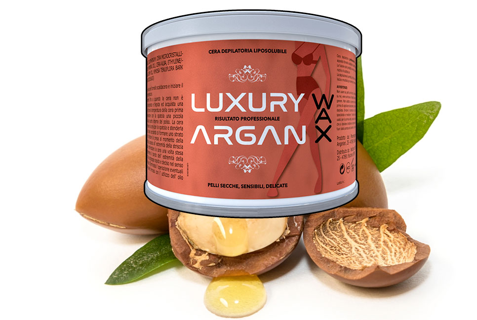 argan wax luxury ceretta